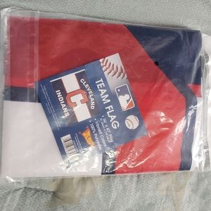 Cleveland Indians Fan Flag New